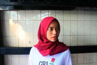 Hijab basic voal