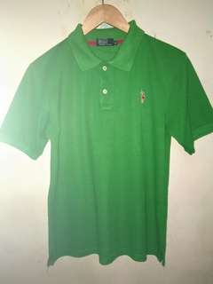 Polo tshirt hijau