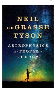 🚚 [E-BOOK/AUDIOBOOK] Astrophysics for People in a Hurry By Neil deGrasse Tyson
