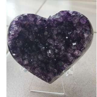 Amethyst Heart 紫水晶爱心