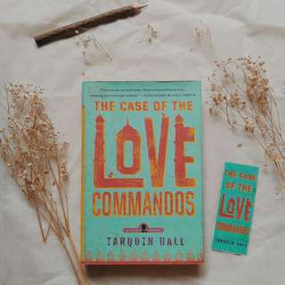The Case of The Love Commandos by Tarquin Hill (English/Novel Impor Inggris)