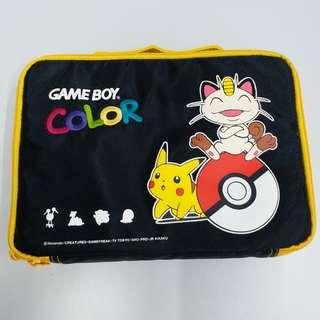 Game boy color Pokemon 袋。全新。