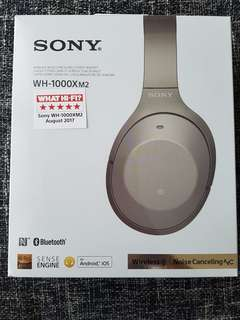 Sony WH-1000X M2 (Gold)