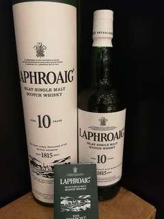 Laphroaig 10 Whisky 威士忌