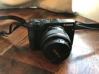 Canon EOS M3 Mirrorless Digital Camera
