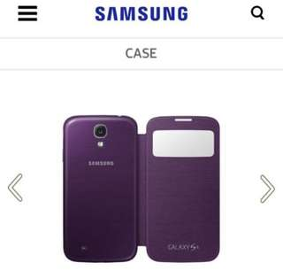 Samsung Galaxy S4 S view case