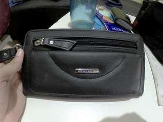 Women Black Wallet