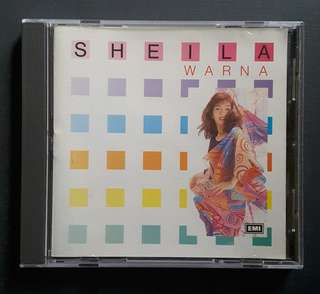 CD Sheila Majid - Warna (Australian 1st Press)