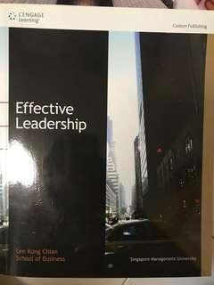 Effective Leadership - Lee Kong Chian School of Business