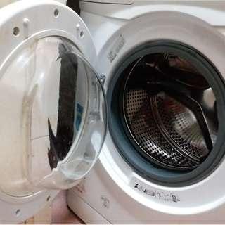買一送一,9成新豐澤有3年保養洗衣機