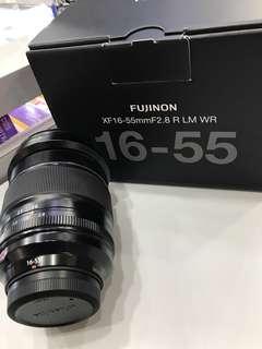 Fujifilm 16-55mm F2.8 XF LM WR LENSES