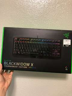 Razer Blackwidow Chroma X Tournament edition