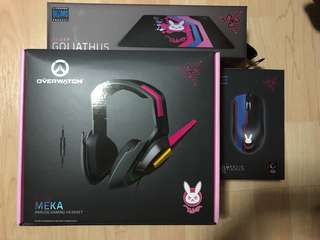 🚚 Razer Overwatch Meka Bundle
