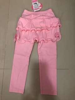 🚚 Pink tutu leggings for 2-3year old