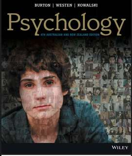 Psychology 4th Australia & New Zealand Edition (e-book)