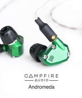 勁減 ! 全新 Campfire Audio Andromeda 仙女座 旗艦級 美國製造 5動鐵單元 耳機 Headphone