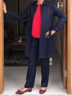 Navy Set Blazer & Pants