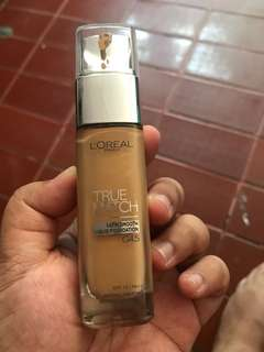 L'oreal true match satin finish foundation