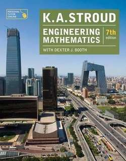 K.A. Stroud Engineering Mathematics (7th edition)
