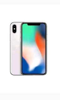 IPhone x 64Gb Silver Cicilan Tanpa Kartu Kredit