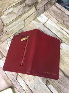 AUTHENTIC CHARLES AND KEITH PASSPORT HOLDER