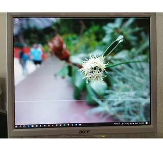 Used Acer AL1717 Monitor screen Condition 7/10