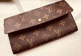 Louis Vuitton Monogram vintage wallet_with original box