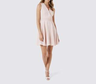 Forever New Blush Skater Dress