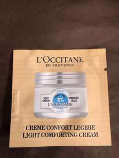 📣 🆕 Loccitane Light comforting cream (karate-Shea 5%) 1.5ml