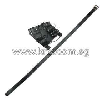In Stock – MIS 0079 – Samurai Swords Belt Frog with Buckle for Three Swords