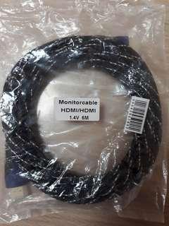 Monitor Cable HDMI/HDMI 1.4V 5M