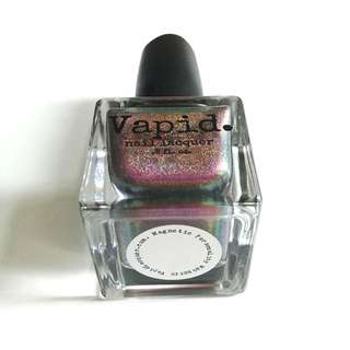 Vapid. Magnetic Personality