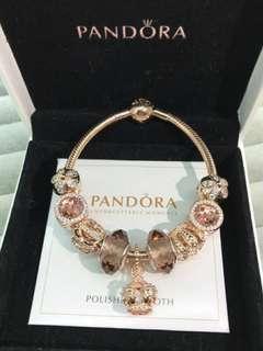 Pandora 手鏈  潘多拉潘朵拉首飾禮物925銀 有齊包裝