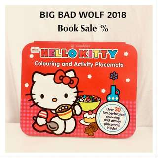 Hellokitty Books Colouring and Activity Placemats