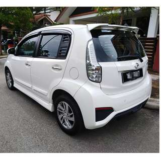 Myvi SE 1.5 2017 FOR RENT