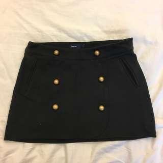 GAP Button Skirt