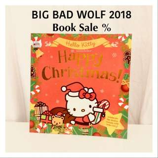 Hellokitty Books Christmas Story Buku Anak Import Sanrio
