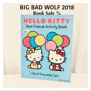 Hellokitty Books Best Friends Activity Buku Anak import Sanrio