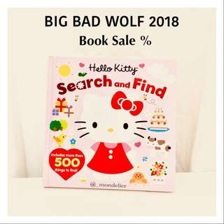 Hellokitty Books Search and Find Buku Anak Import sanrio
