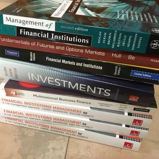 Murdoch Banking/Finance Text Books