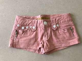 🚚 全新粉紅牛仔短褲