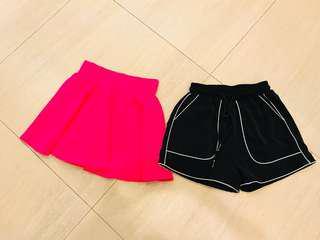 New skirt n shorts