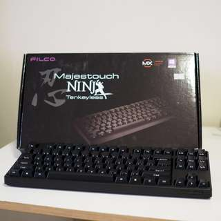 Filco Majestouch Ninja Tenkeyless Mechanical Keyboard