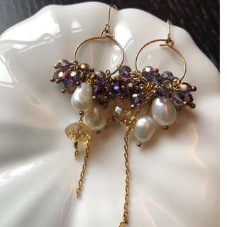 Crystal Earrings (Good condition)