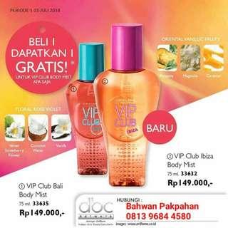 #Maudecay# VIP Club Bali Body Mist