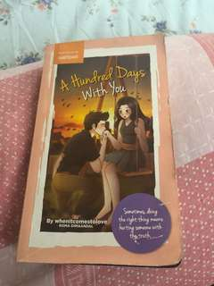 Wattpad Book(A Hundred Days With You)
