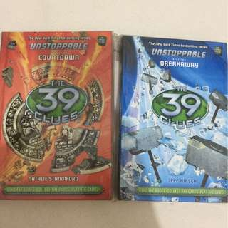 The 39 clues series from Scholastic