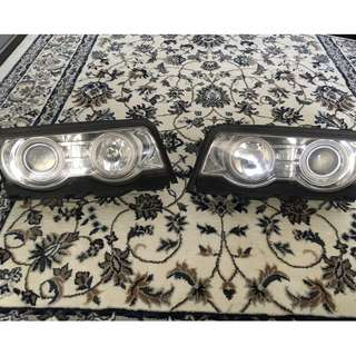BMW E38 Headlight Angel Eye Projector