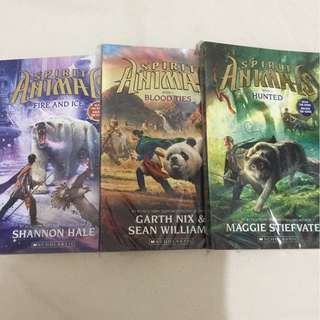 Spirit Animals series from Scholastic