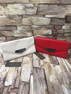 AUTHENTIC CHARLES AND KEITH WALLET
